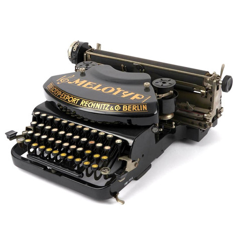 Melotyp Music Typewriter at London Scien