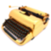 Gold Remington Typewriter