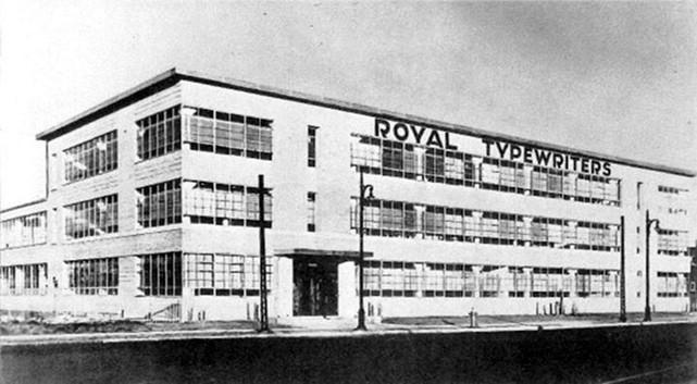 Royal Typewriter Factory (Canada)
