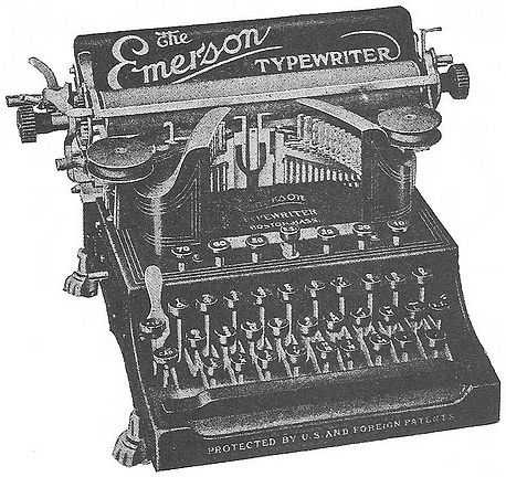 Emerson Typewriter with Clawfoot