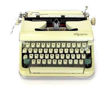 Olympia SM5 Typewriter