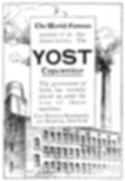 Yost Writing Machine Factory