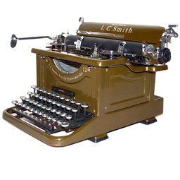 L.C. Smith No.8 Secretarial Typewriter
