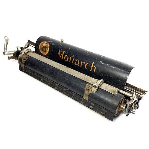 Monarch Standard Typewriter No.3 Carriage