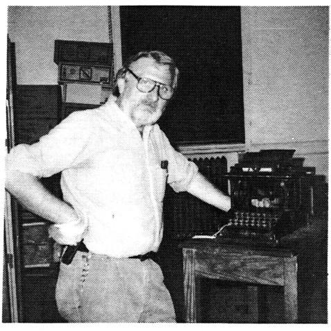 Siegfried Snyder & Baby Sholes Typwriter