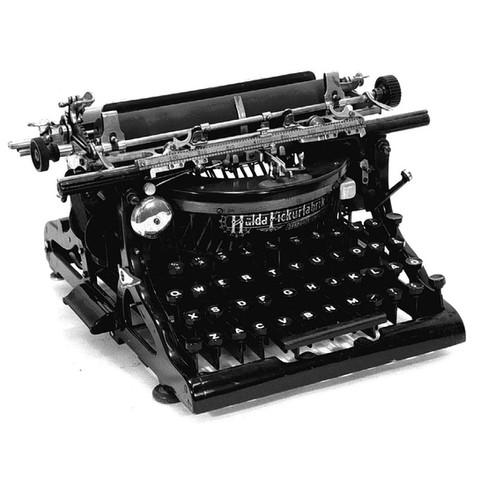 Halda No.4 Typewriter