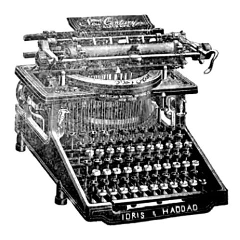 Idris and Haddad Arabic Typewriter