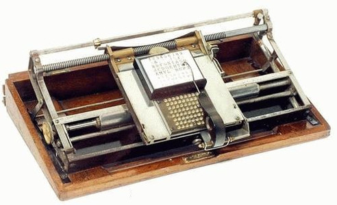Hall Typewriter
