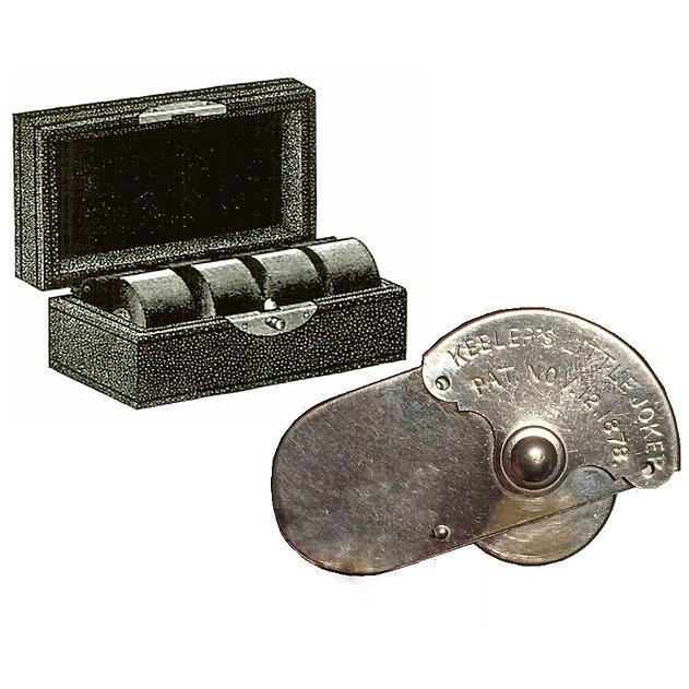 Keeler's Little Joker Pocket Printing Wheel