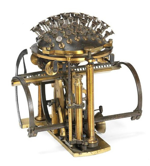 Malling-Hansen Typewriter