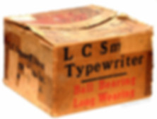 L.C. Smith No.8 Typewriter Box
