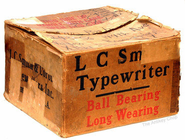 L.C. Smith No.8 Typewriter Box