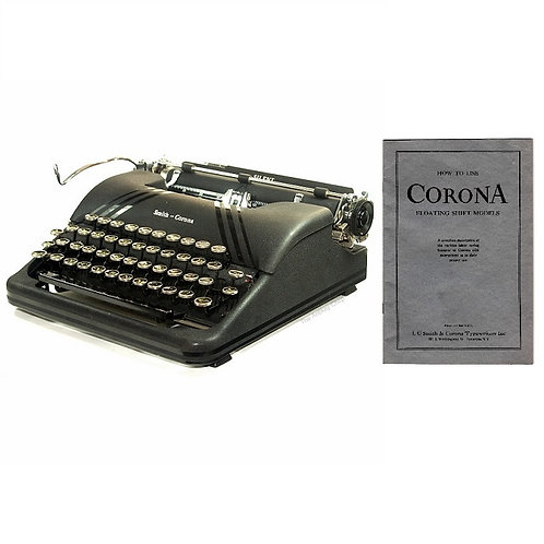 Smith Corona Silent Typewriter Instruction Manual