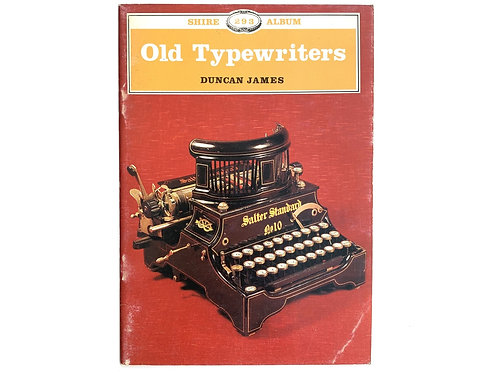 Old Typewriters (Shire Albums) Paperback – March 1, 1999