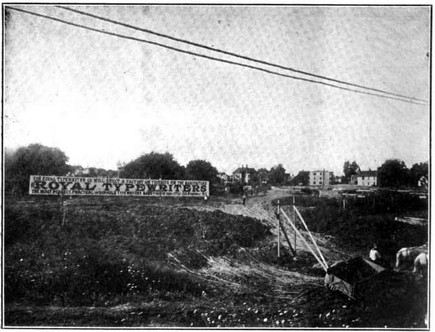 Royal Typewriter Factory Pre Construction