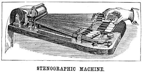 Stenographic Machine