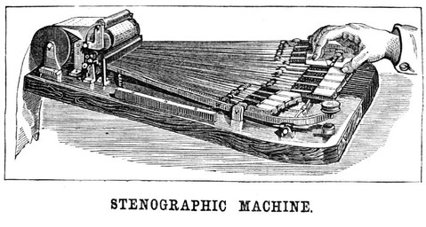 Stenographic Machine