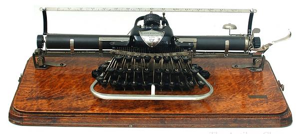Blickensderfer No. 7 Typewriter with Wide Carriage