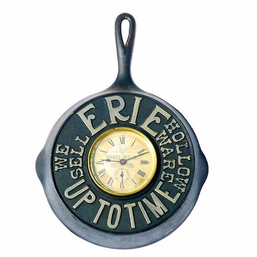 Griswold Cast Iron Skillett Clock