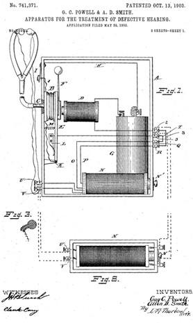 Dr Guy Clifford Powell Electro Vibratory Apparatus Patent