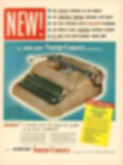 Smith Corona 5 Series Typewriter Ad 1949