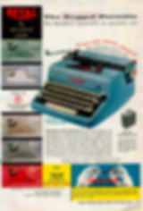 Royal Quiet de Luxe Portable Typewriter Ad