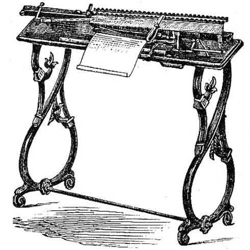 Westfalia Typewriter (Schreibmaschine)