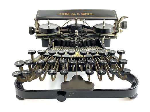 Commercial Visible No.5 Typewriter s.n.7