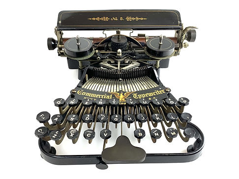 Commercial No.5 Typewriter