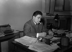 Italian Sports Journalist Giani Brer