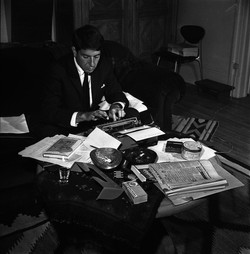 Songwriter Leonard Cohen