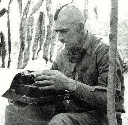 Author Sgt. Frank Woolner