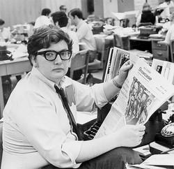Critic Roger Ebert