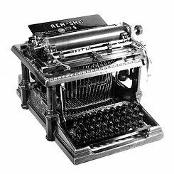 Rem Sho No.5 Typewriter