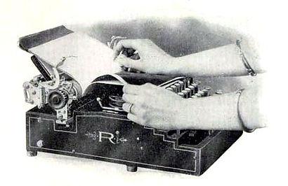 Royal Standard Typewriter Rendering