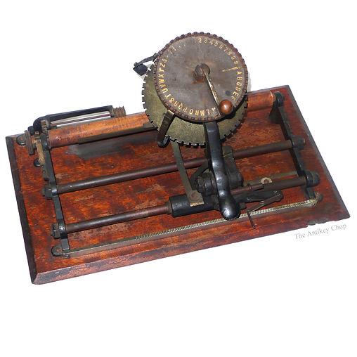 McLoughlin Bros Typewriter
