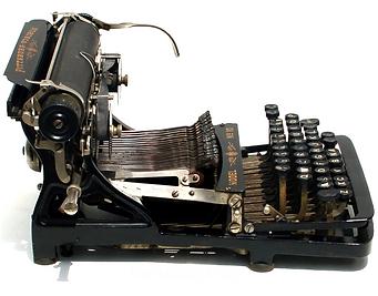 Pittsburg Visible Typewriter