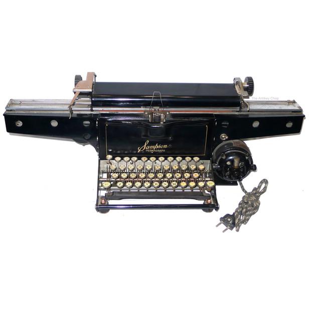 Sampson Permagraph Typewriter