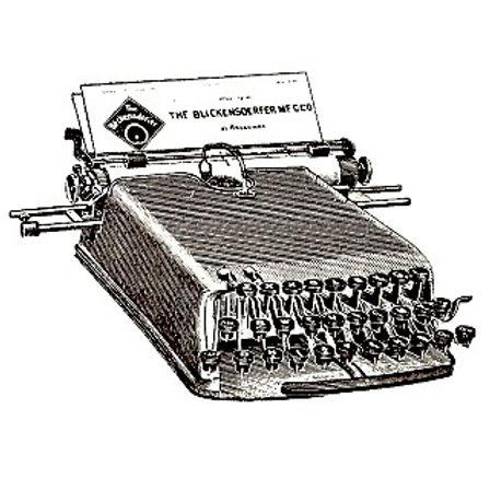 Blickensderfer No.1 Typewriter