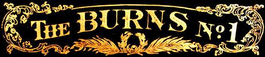 Burns Typewriter Decal