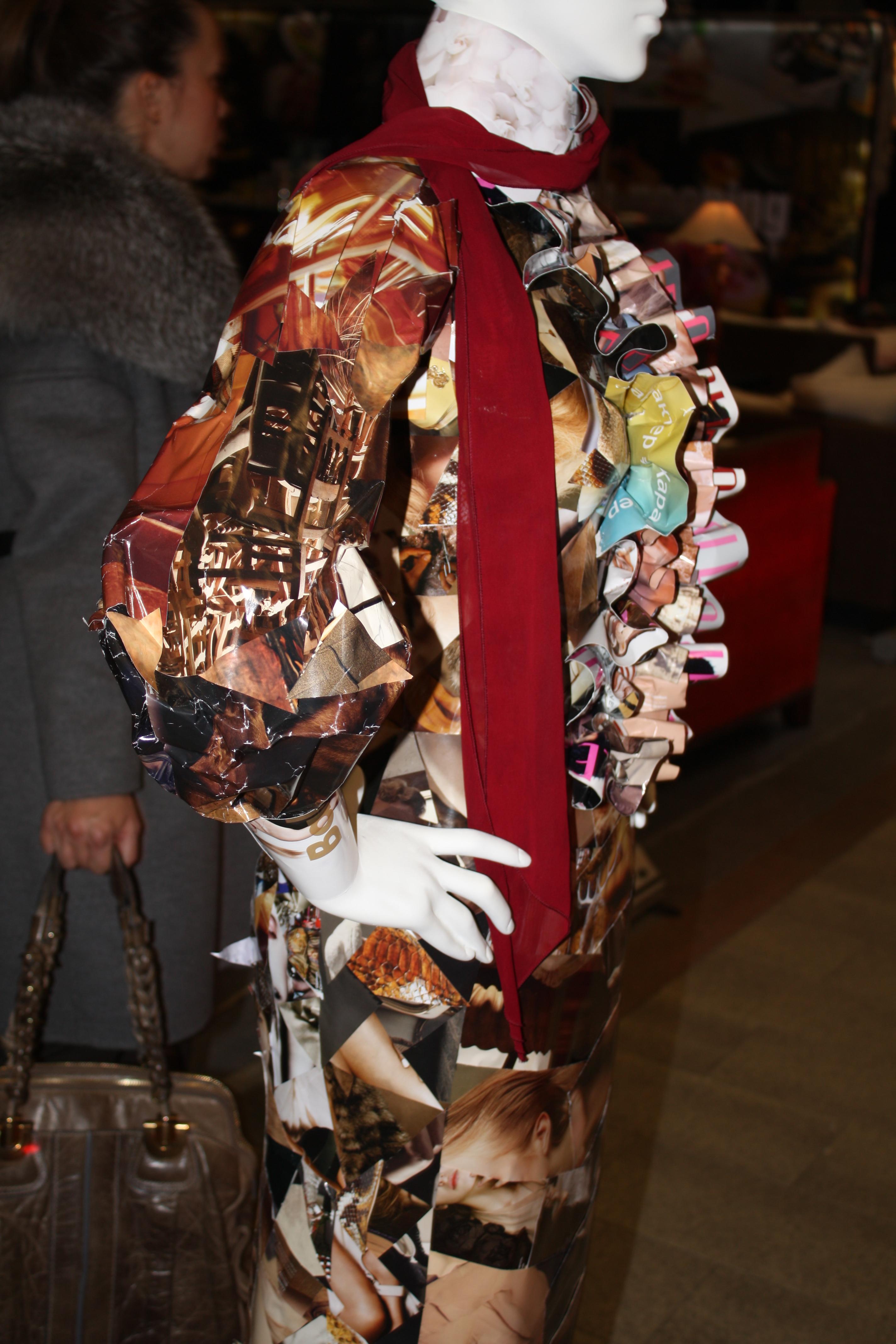 Платье из журналов