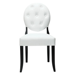 #286 Faux Leather Dining Chairs (Set of 4) $350