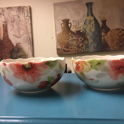 #1284 Set of Two Bowls $10