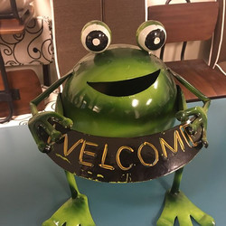 #1277 Welcome Frog Accessory $10