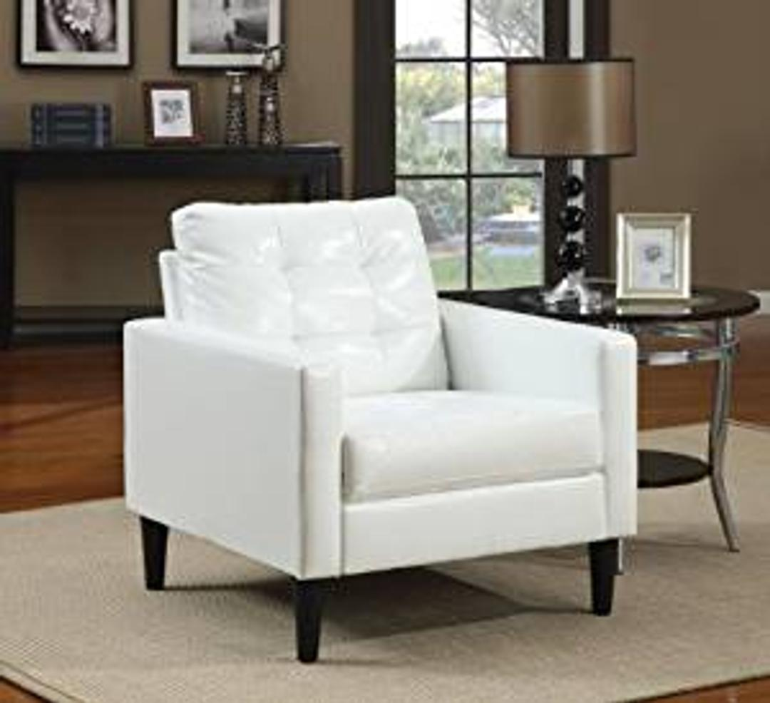 #171 White Accent Chair $150