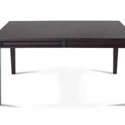 #234 Brown Dining Table w/ Extension $139