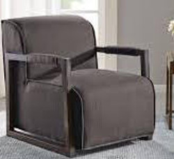 #124 Gray Accent Chair (Set of 2) $130 each