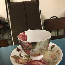 #1286 Cup and Saucer $6