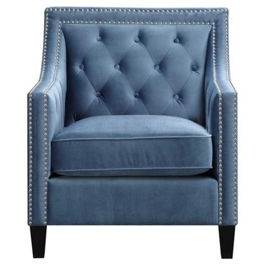 #093 Blue Accent Chair $190