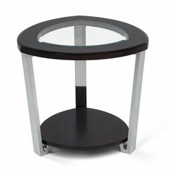 #441 Glass Top End Table $60